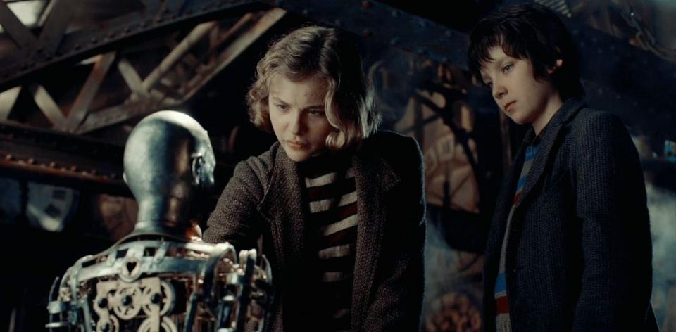 кадры из фильма Хранитель времени 3D Хлоэ Грейс Моритц, Эйса Баттерфилд,