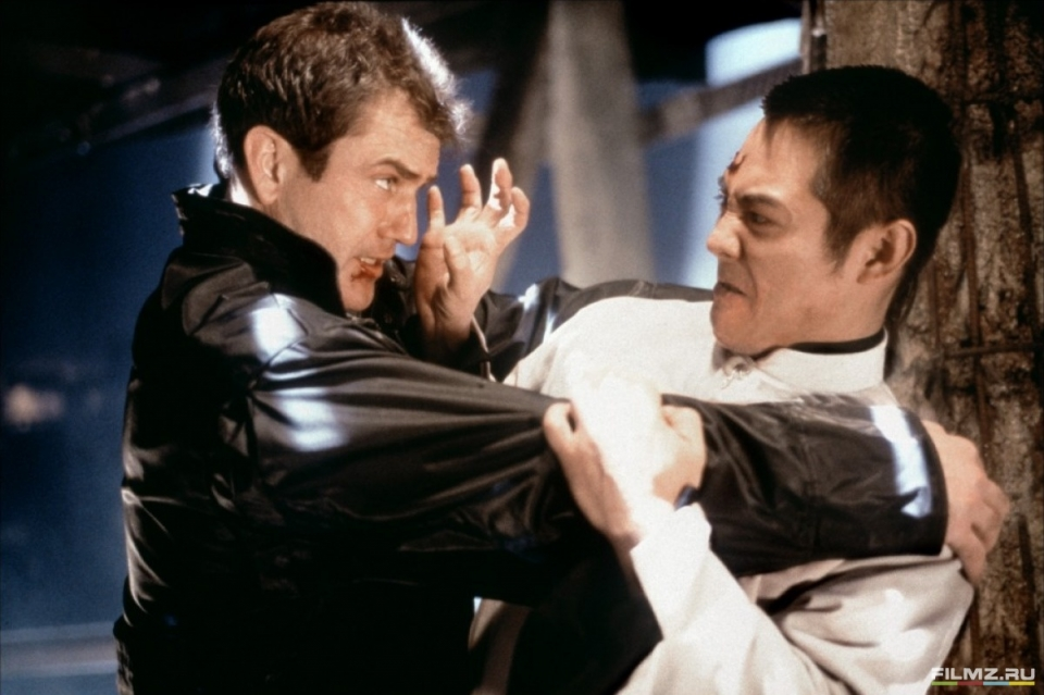 кадры из фильма Смертельное оружие 4 Джет Ли, Мел Гибсон,