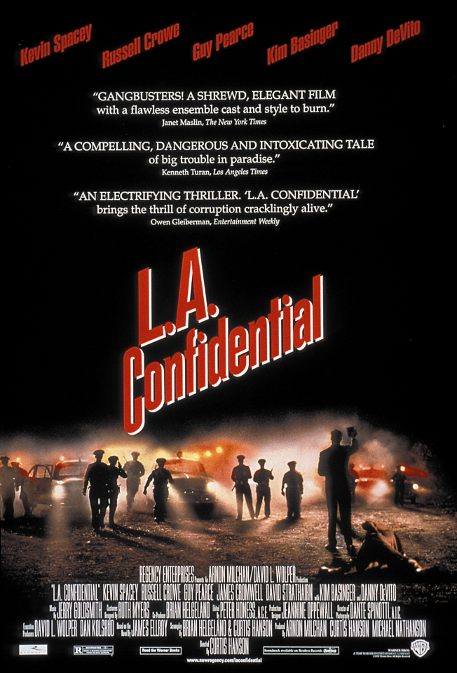 плакат фильма Секреты Лос-Анджелеса