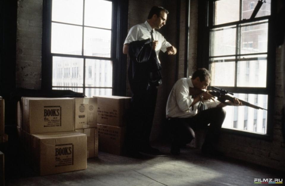 кадры из фильма Джон Ф. Кеннеди: Выстрелы в Далласе Майкл Рукер, Кевин Костнер,