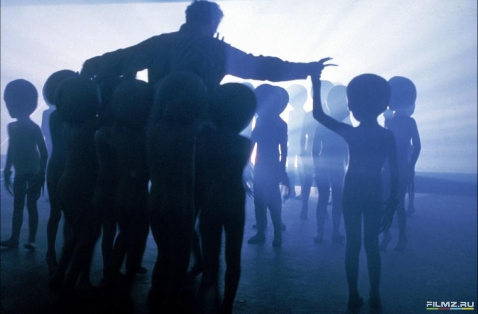 кадры из фильма Близкие контакты третьей степени