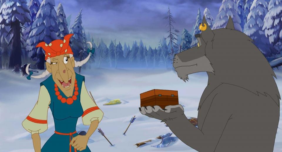 кадры из фильма Иван Царевич и Серый Волк