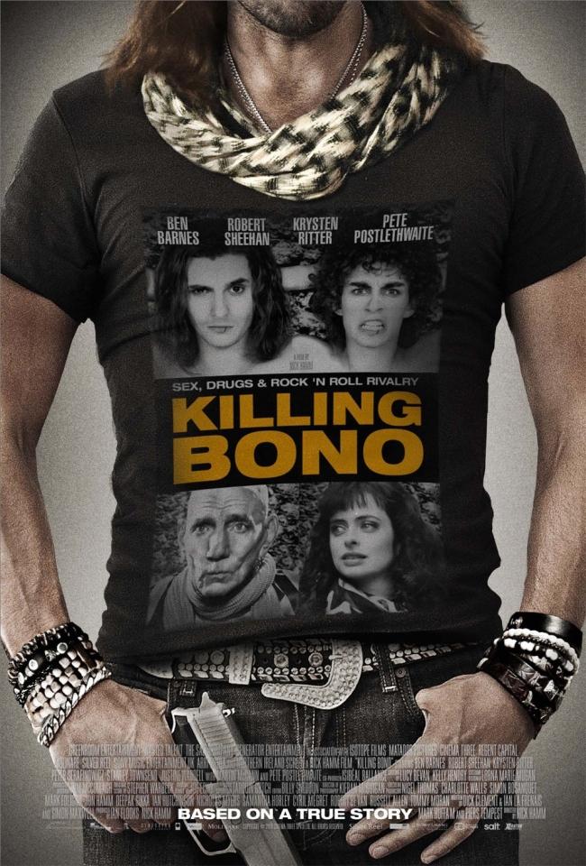 плакат фильма постер Убить Боно