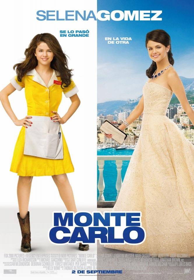 плакат фильма постер Монте-Карло