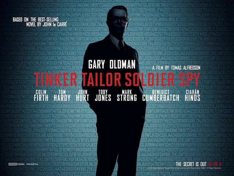 плакат фильма биллборды Шпион, выйди вон!