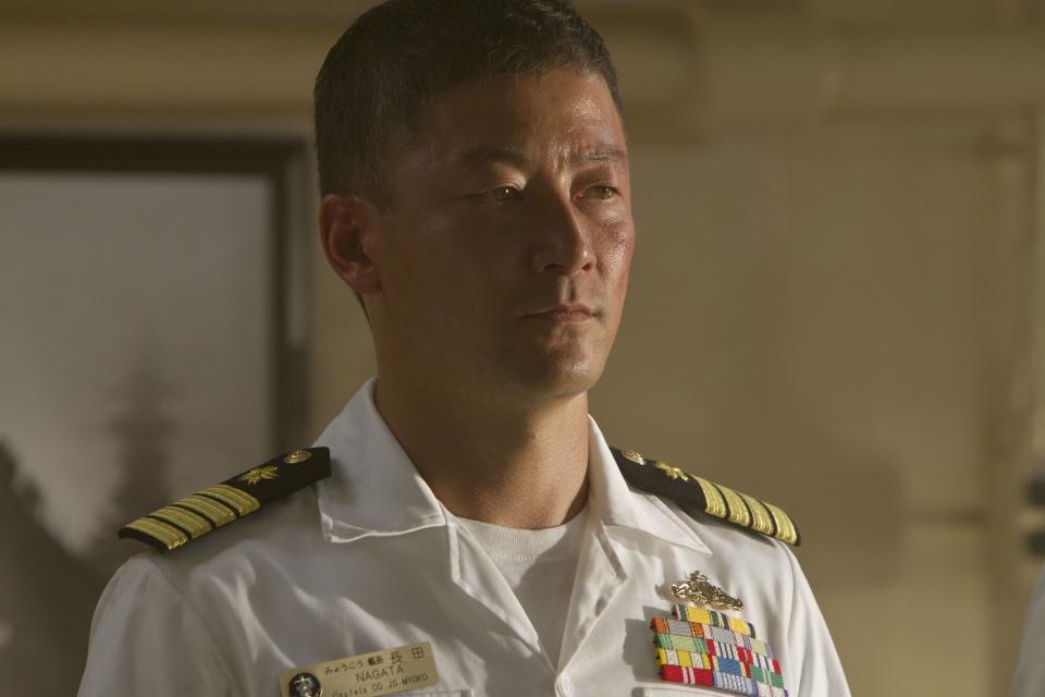 кадры из фильма Морской бой Таданобу Асано,