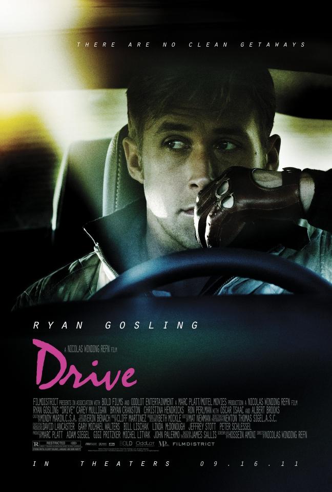 плакат фильма постер Драйв