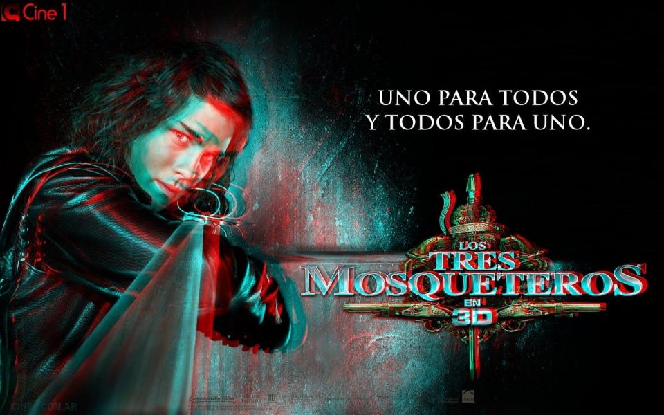 плакат фильма характер-постер баннер Мушкетеры