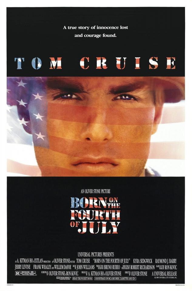 плакат фильма Рожденный четвертого июля