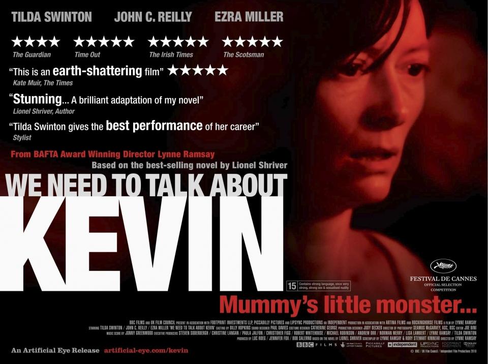 плакат фильма биллборды характер-постер Что-то не так с Кевином