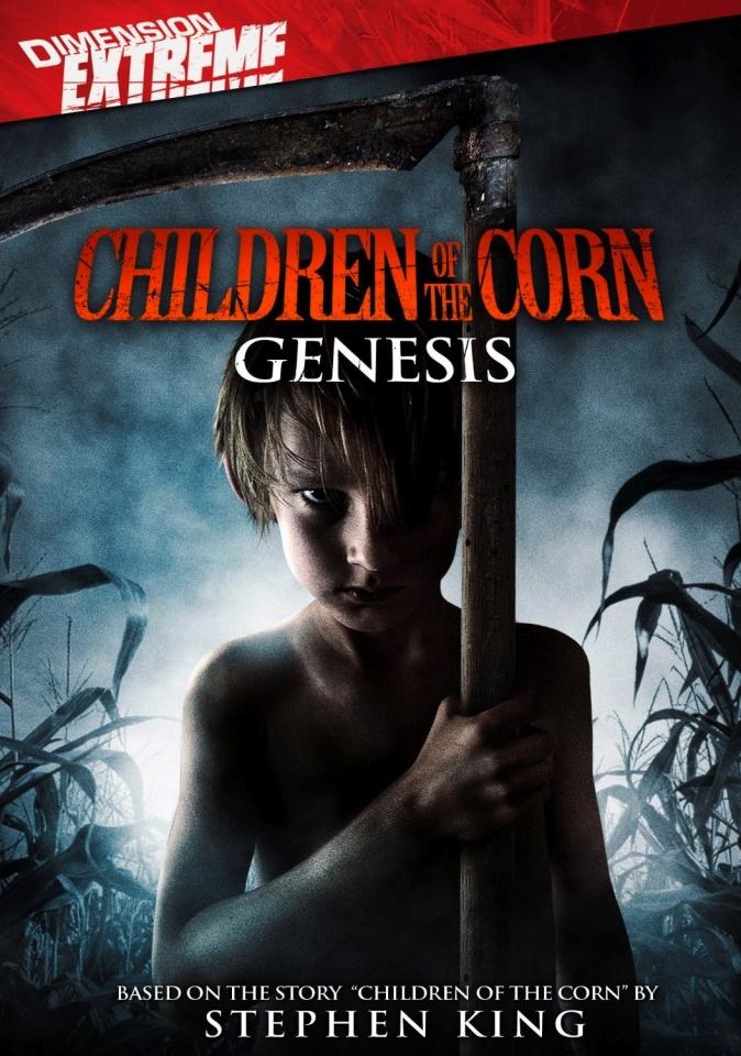 плакат фильма DVD Дети кукурузы: Генезис