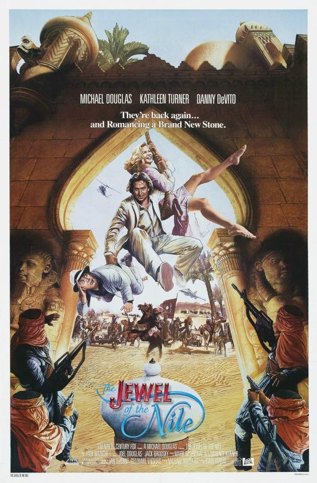 плакат фильма постер Жемчужина Нила