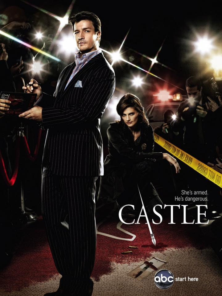плакат фильма постер сезон 2 Касл