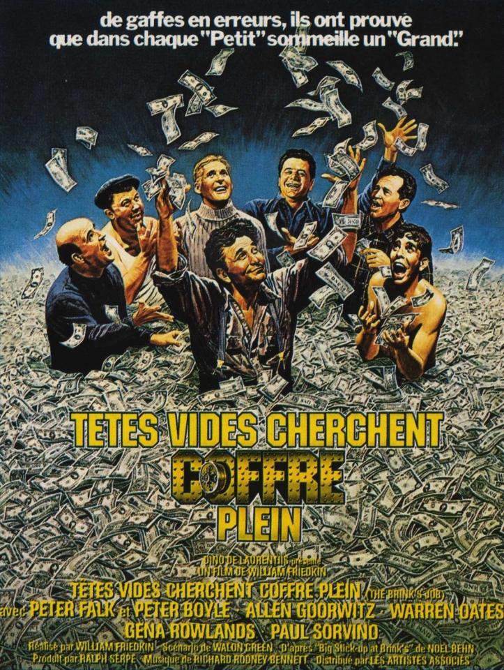 плакат фильма Ограбление Бринкса