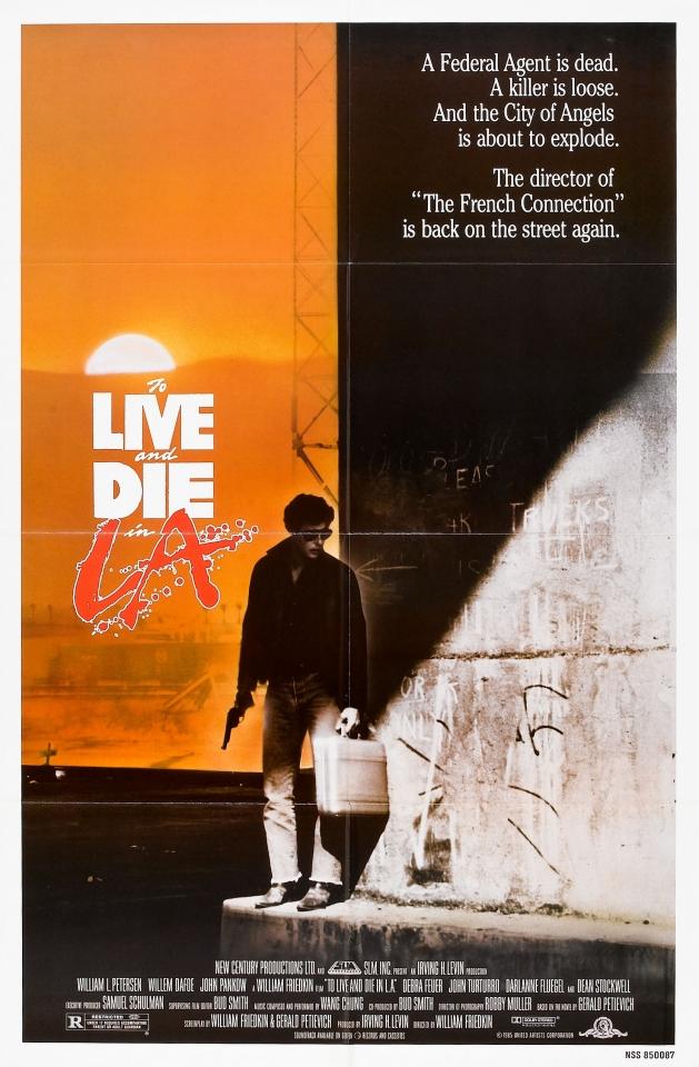 плакат фильма постер Жить и умереть в Лос-Анджелесе