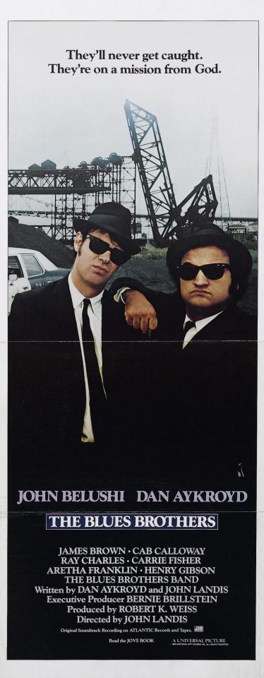 плакат фильма Братья Блюз