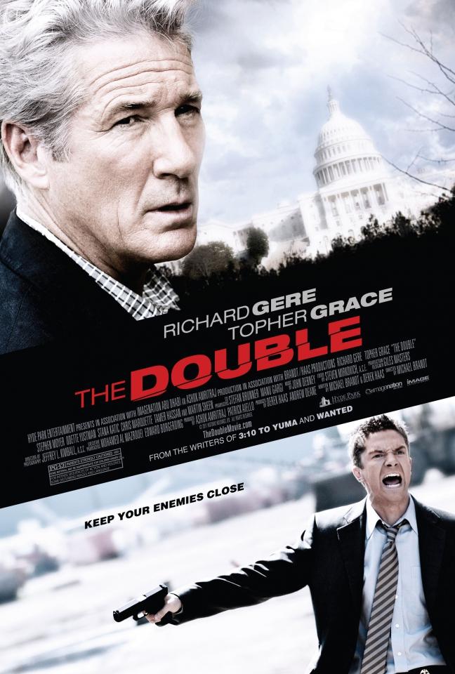 плакат фильма постер Двойной агент