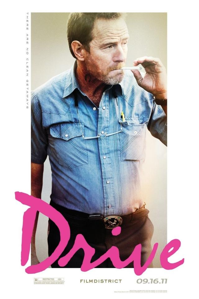 плакат фильма характер-постер Драйв