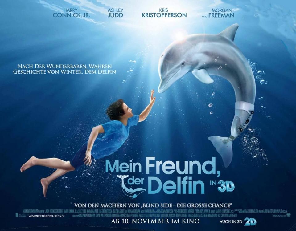 плакат фильма биллборды История дельфина
