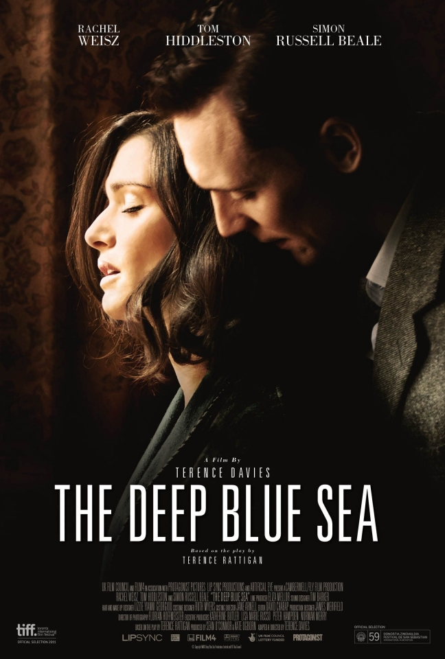 плакат фильма постер Глубокое синее море