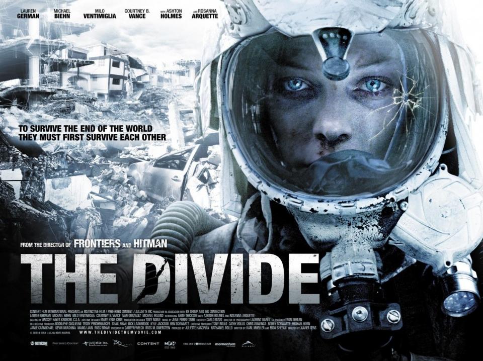 плакат фильма биллборды Разделитель