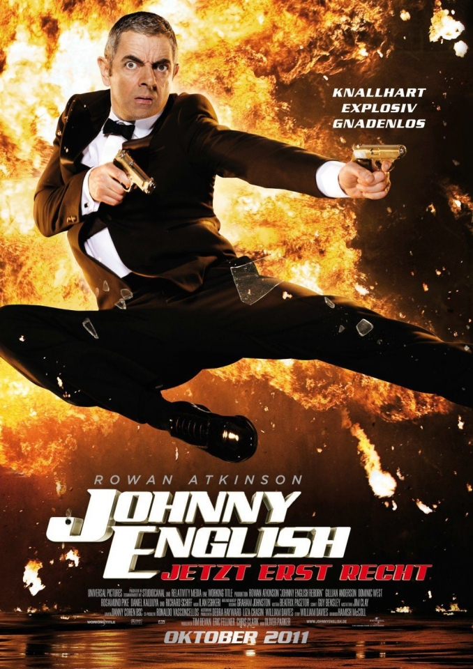 плакат фильма постер Агент Джонни Инглиш: Перезагрузка