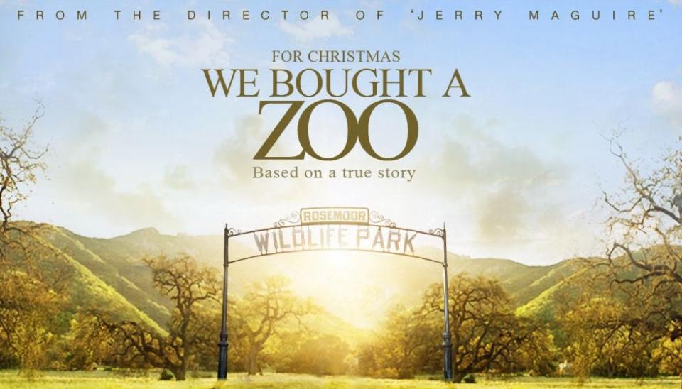 плакат фильма тизер баннер Мы купили зоопарк