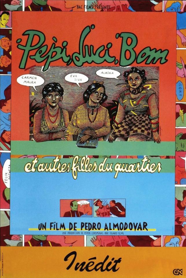 плакат фильма Пепи, Люси, Бом и остальные девушки