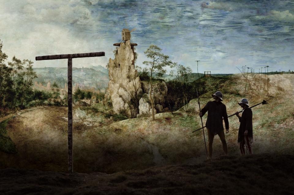 кадры из фильма Мельница и крест