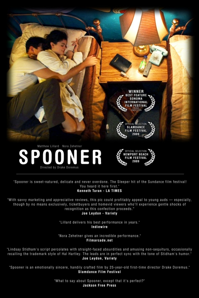 плакат фильма постер Спунер