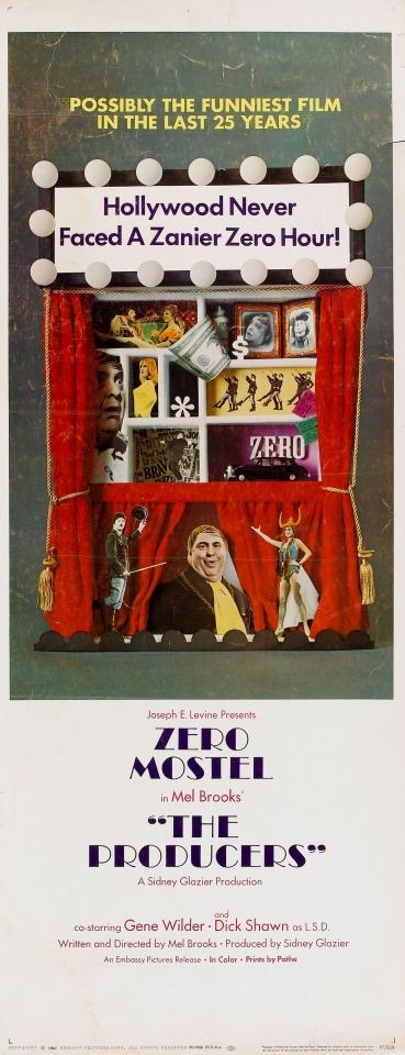 плакат фильма баннер Продюсеры