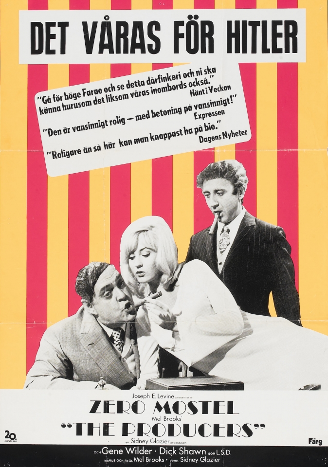 плакат фильма постер Продюсеры