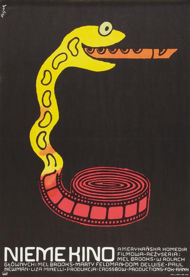 плакат фильма постер Немое кино