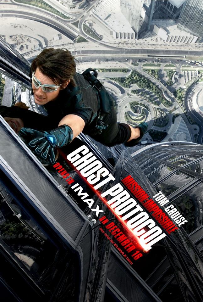 плакат фильма IMAX-постер Миссия Невыполнима: Протокол Фантом