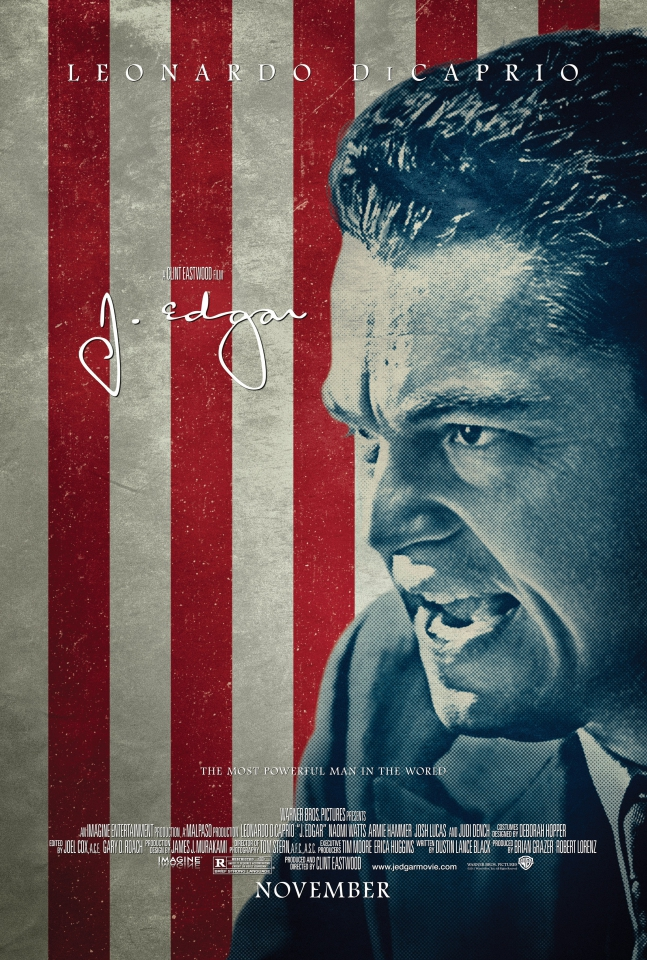 плакат фильма постер Дж. Эдгар