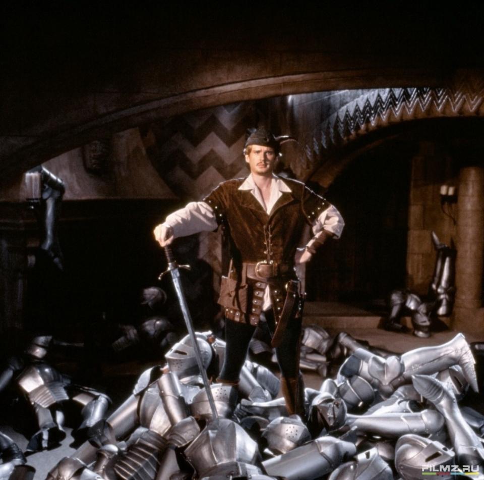 кадры из фильма Робин Гуд: Мужчины в трико Кэри Элвес,