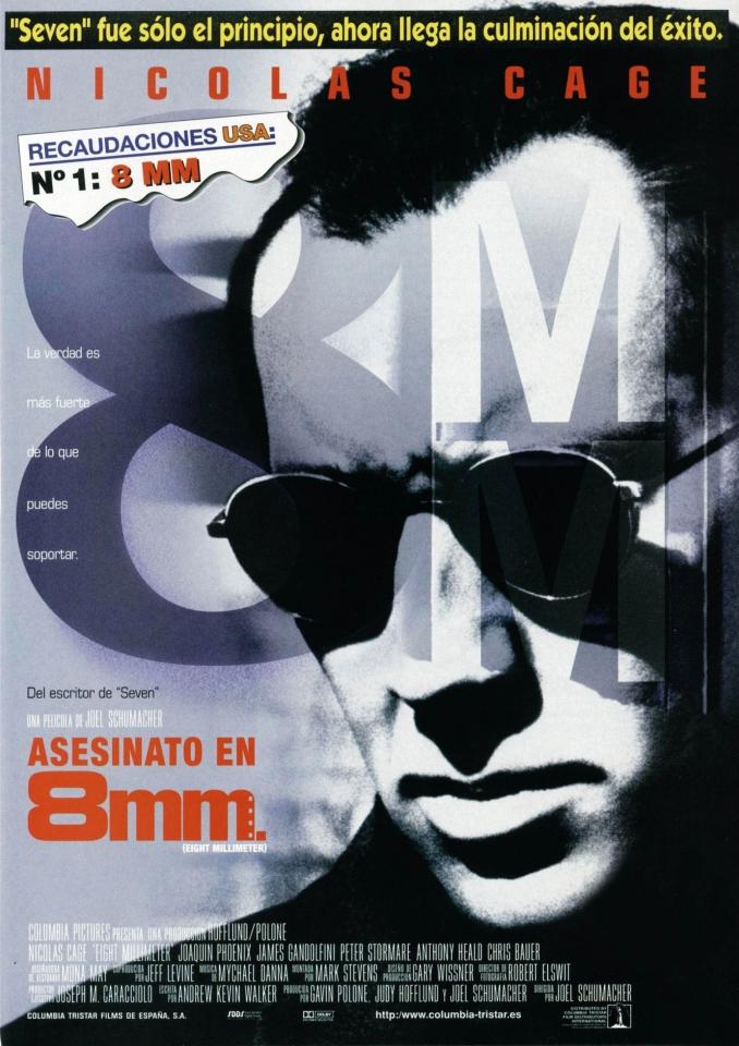 плакат фильма 8 миллиметров
