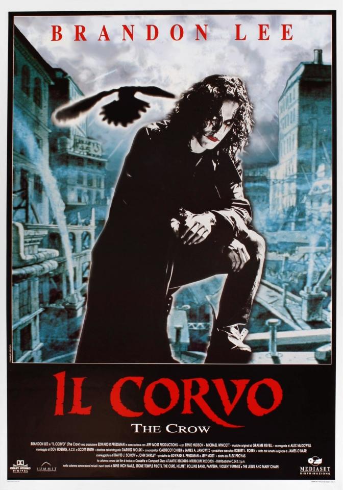 плакат фильма Ворон