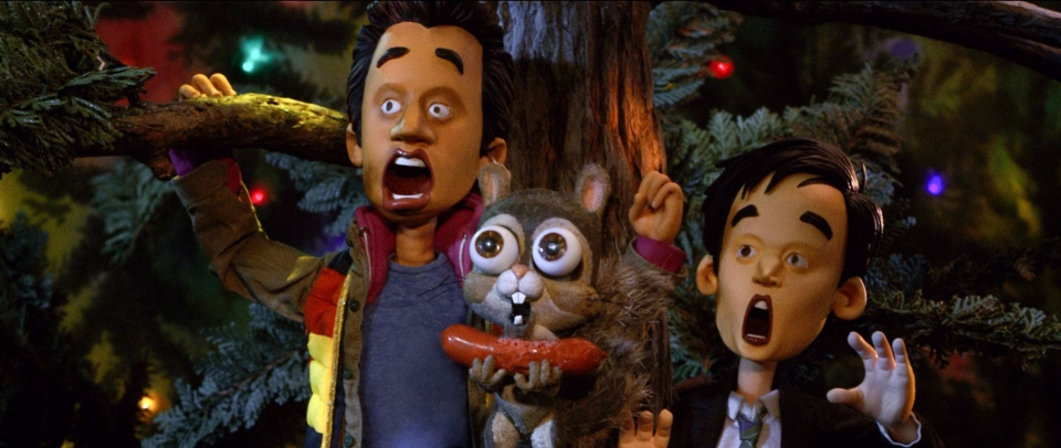 кадры из фильма Убойное Рождество Гарольда и Кумара