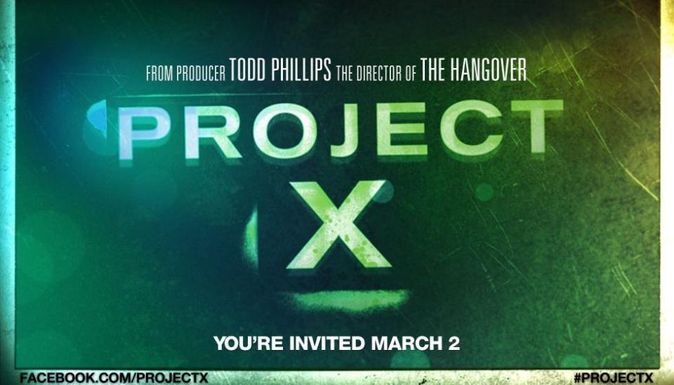 плакат фильма тизер биллборды Проект Х: Дорвались