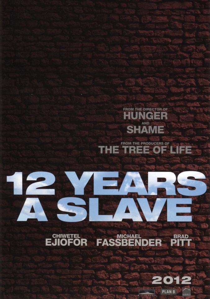 плакат фильма сейлс-арт 12 лет рабства