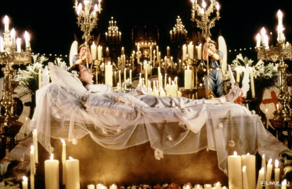 кадры из фильма Ромео + Джульетта Клэр Дэйнс,