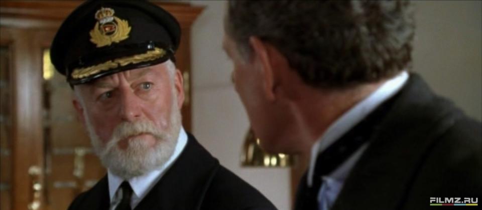 кадры из фильма Титаник Бернард Хилл,