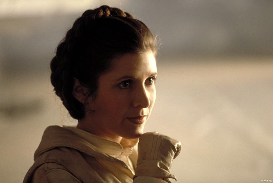 кадры из фильма Звездные войны: Эпизод V — Империя наносит ответный удар Кэрри Фишер,