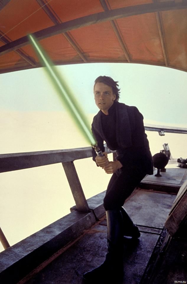 кадры из фильма Звездные войны: Эпизод VI — Возвращение Джедая Марк Хэмилл,