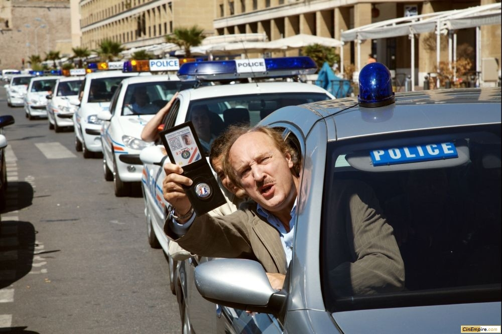 кадры из фильма Такси 4 Бернар Фарси,