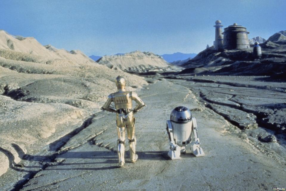 кадры из фильма Звездные войны: Эпизод VI — Возвращение Джедая Кенни Бейкер, Энтони Дэниелс,