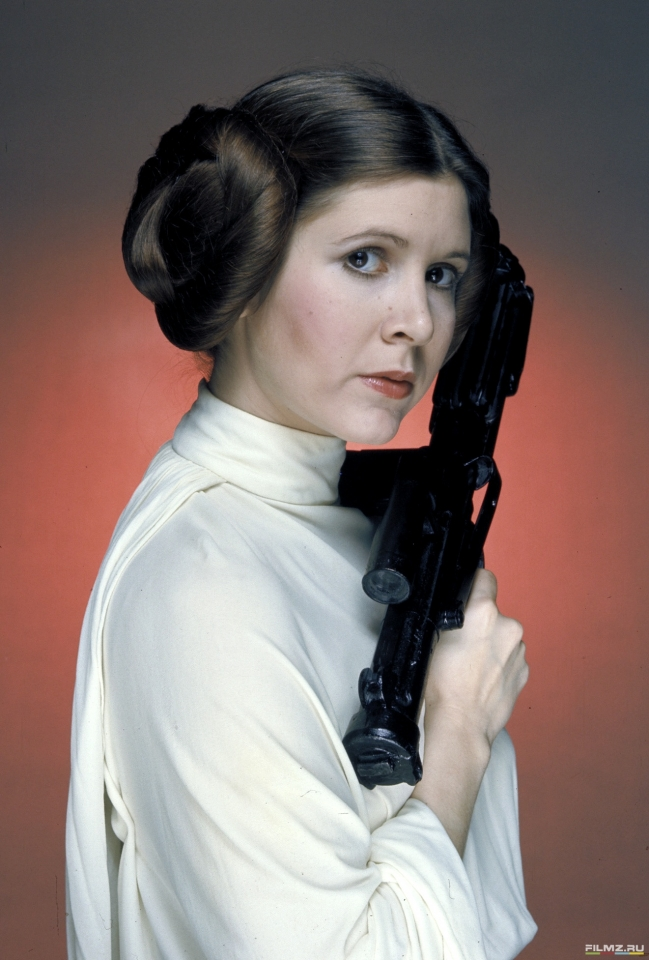 промо-слайды Звездные войны: Эпизод V — Империя наносит ответный удар Кэрри Фишер,