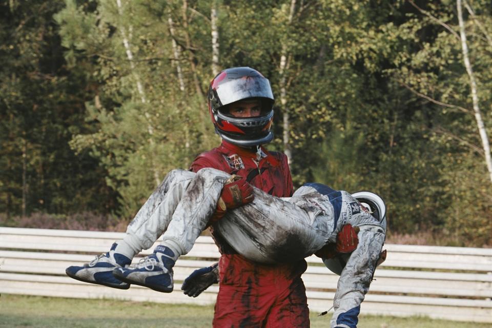 кадры из фильма Мишель Вальян: Жажда скорости Сагамор Стевенен,
