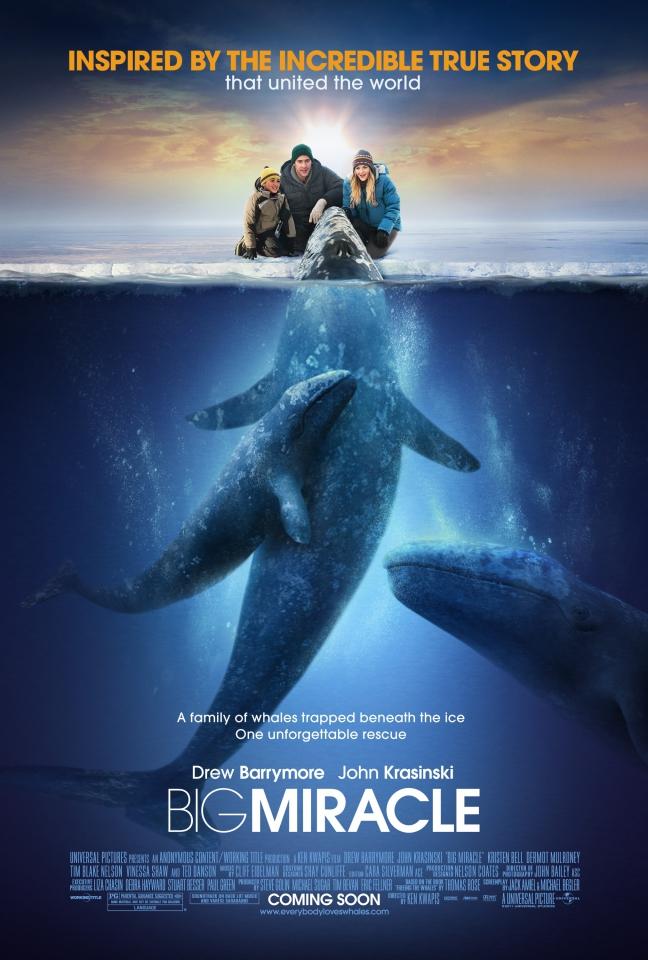плакат фильма постер Все любят китов